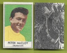 Motherwell Peter McCloy 1969